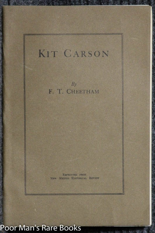 Image for KIT CARSON