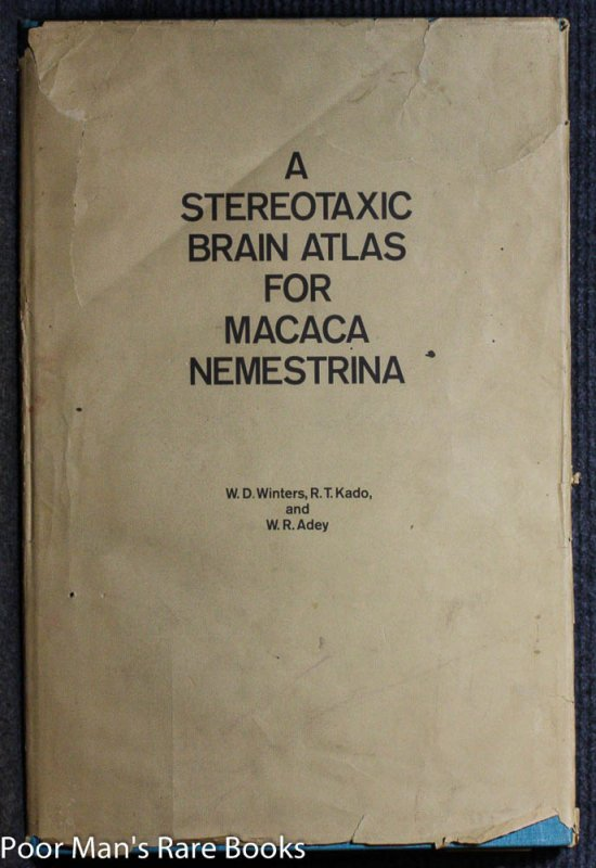 Image for A STEREOTAXIC BRAIN ATLAS FOR MACACA NEMESTRINA