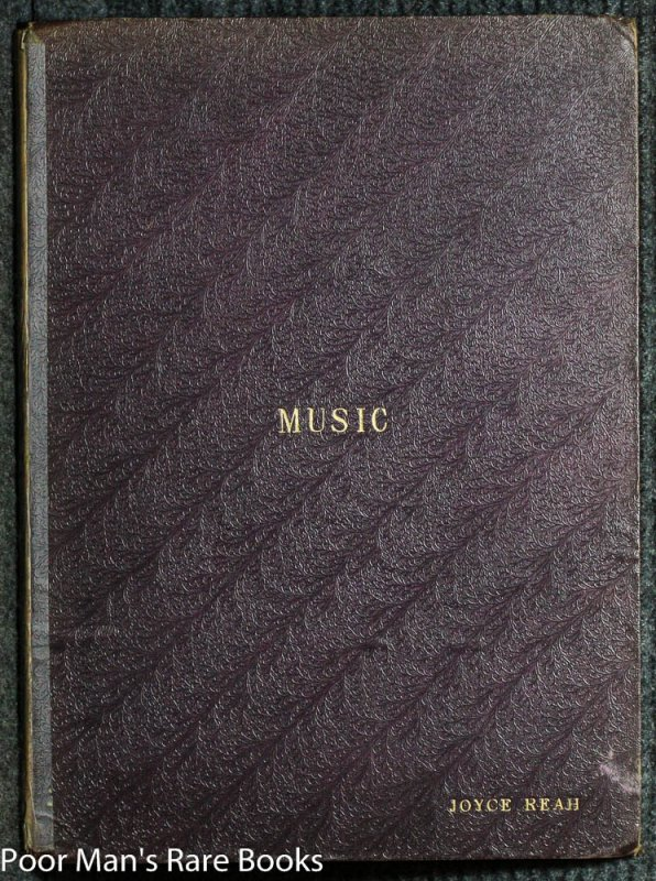 Image for VOLUME OF SHEET MUSIC FROM THE 1800'S