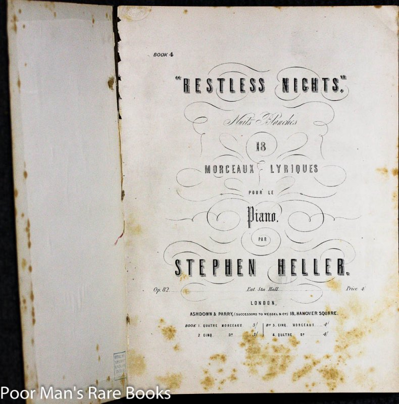 Image for VOLUME OF SHEET MUSIC COLLECTION FROM THE 1800'S 15 PIECES