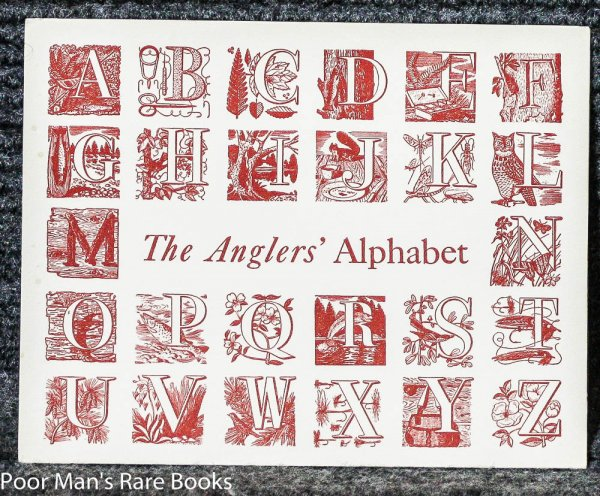 Image for THE ANGLERS' ALPHABET. MERRY CHRISTMAS CARD S. G. H.