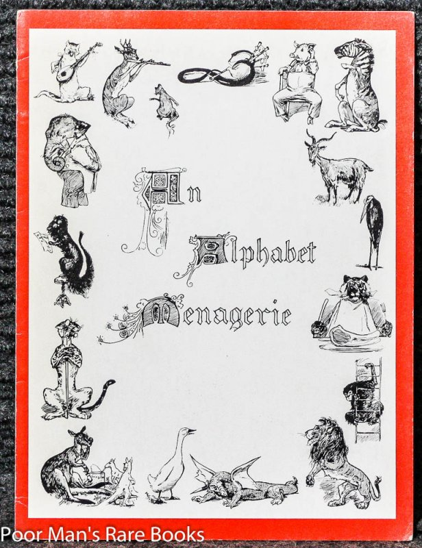 Image for AN ALPHABET MENAGERIE [FACSIMILE]