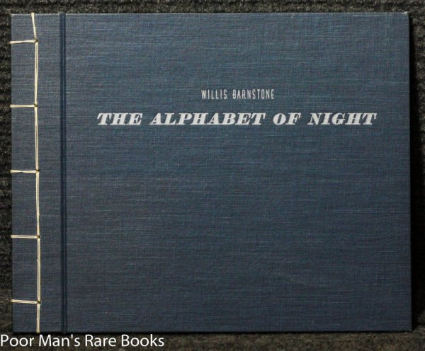 Image for ALPHABET OF NIGHT [SIGNED, LIMITED]