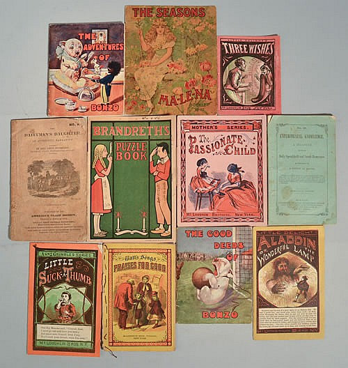 Image for 11 ANTIQUE CHILDREN'S MINIATURE BOOKS CIRCA 1850-1930 [Lbc]