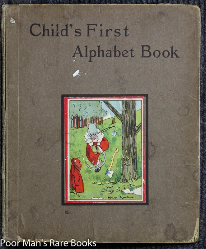 Image for CHILD'S FIRST ALPHABET BOOK