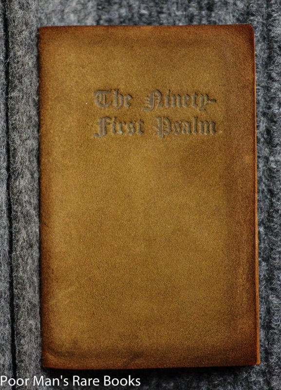 Image for PSALM XCI [MINIATURE BOOK]