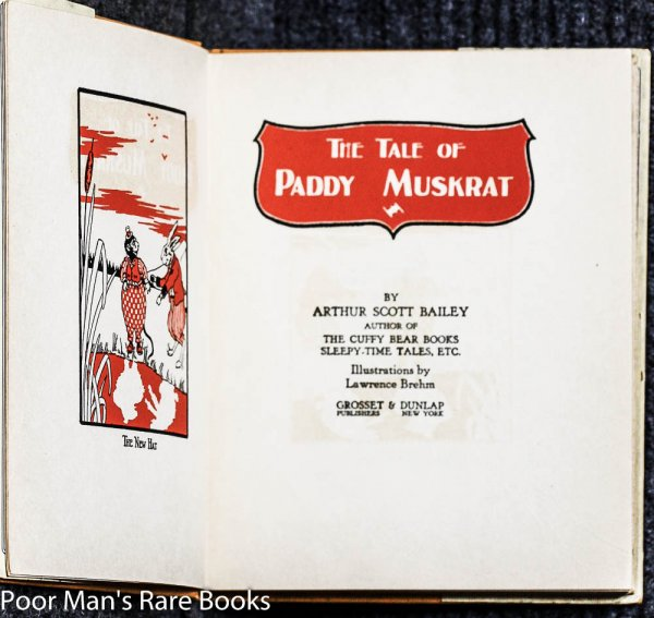 Image for THE TALE OF PADDY MUSKRAT
