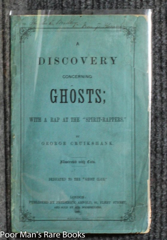 "Image for A DISCOVERY CONCERNING GHOSTS; WITH A RAP AT THE ""SPIRIT-RAPPERS."""