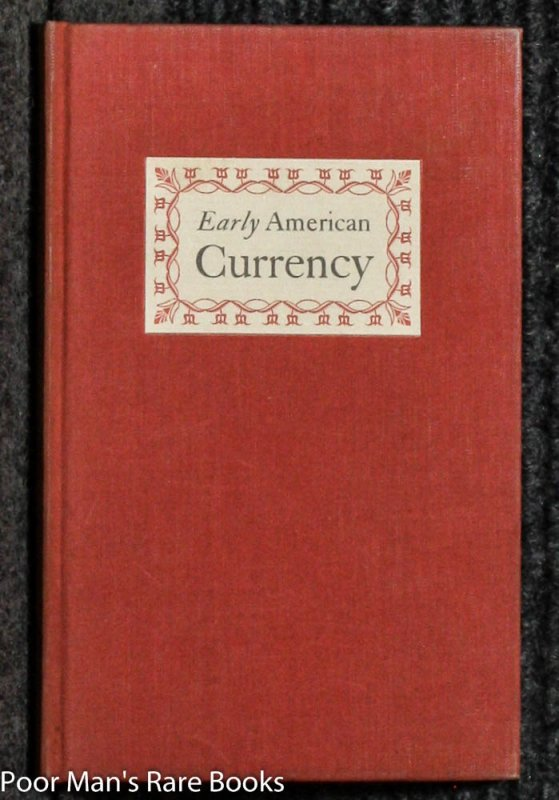 Image for EARLY AMERICAN CURRENCY [LTD]