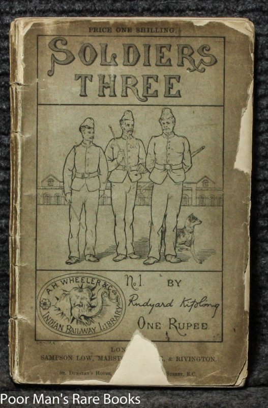 Image for SOLDIERS THREE