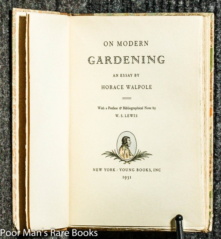 Sample Essays High School Students Image For On Modern Gardening An Essay By Horace Walpole Ltd Ed Essay On Terrorism In English also Argumentative Essay Sample High School On Modern Gardening An Essay By Horace Walpole Ltd Ed Essay On Religion And Science