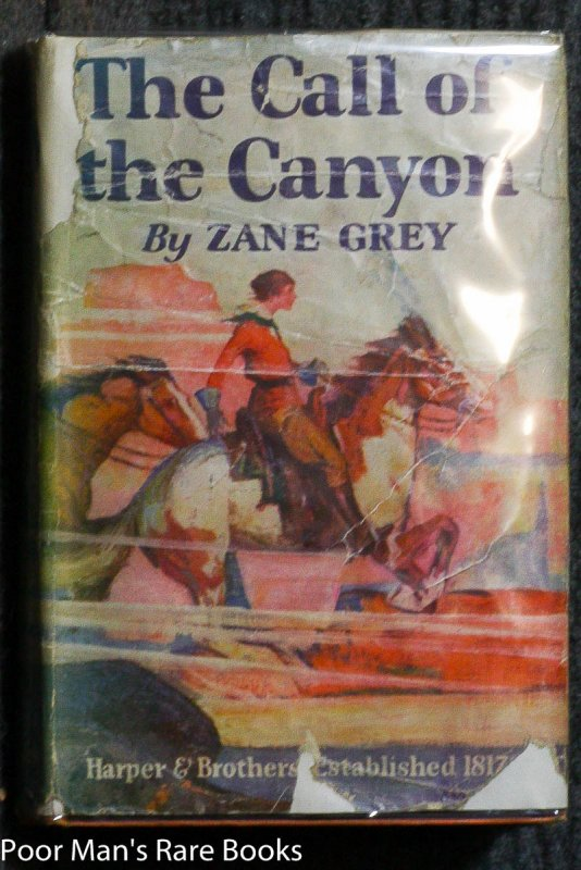 Image for THE CALL OF THE CANYON.