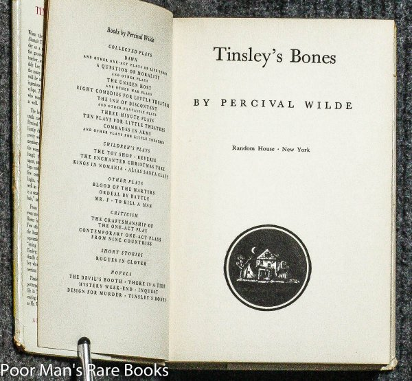 Image for TINSLEY'S BONES