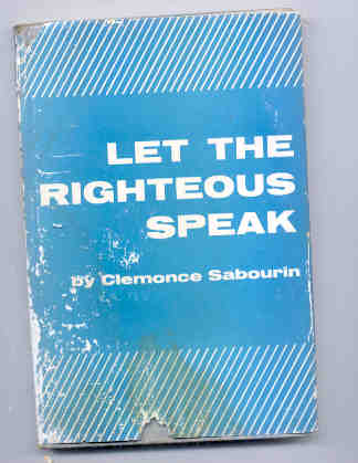 Image for Let the righteous speak!  Travel memoirs