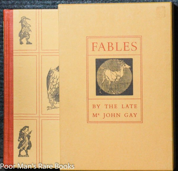 Image for FABLES BY THE LATE MR. JOHN GAY [SIGNED BY ARTIST, SLIPCASE]