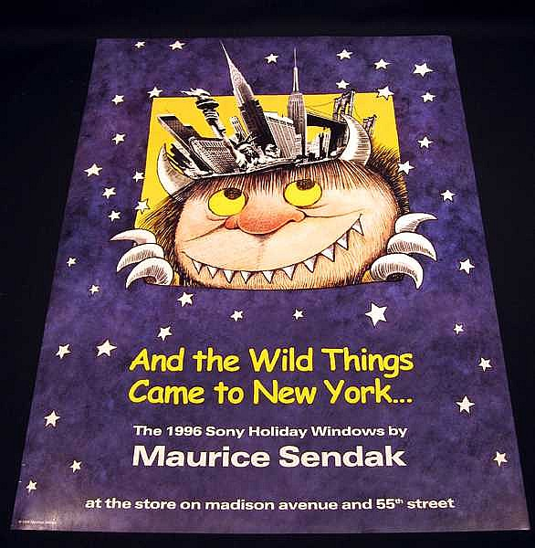 Image for MAURICE SENDAK AND THE WILD THINGS CAME TO NEW YORK 1996 SONY HOLIDAY
