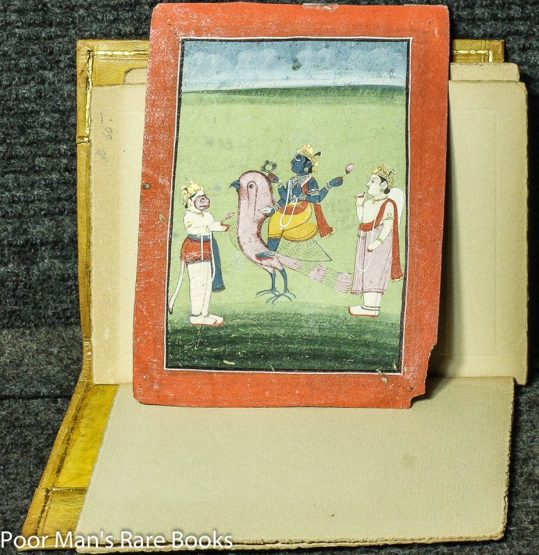 Image for MIDDLE EASTERN HAND COLORED MINIATURES IN GILT FOLDER 1800'S