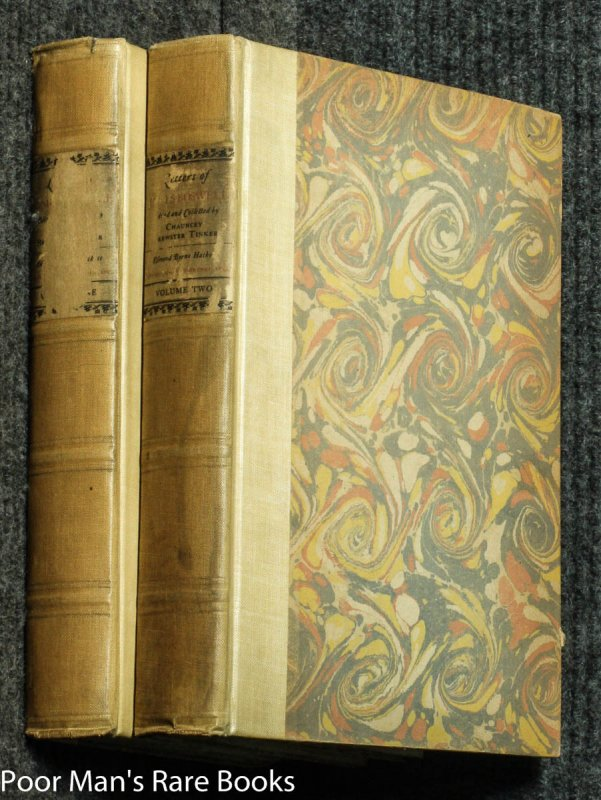 Image for LETTERS OF JAMES BOSWELL [SIGNED LIMITED CT IN 2 VOLS]