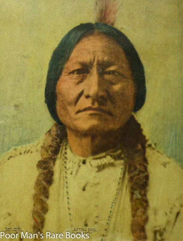 Image for SITTING BULL AFTER PHOTO BY FISK, FRAMED IN COLOR Lbc