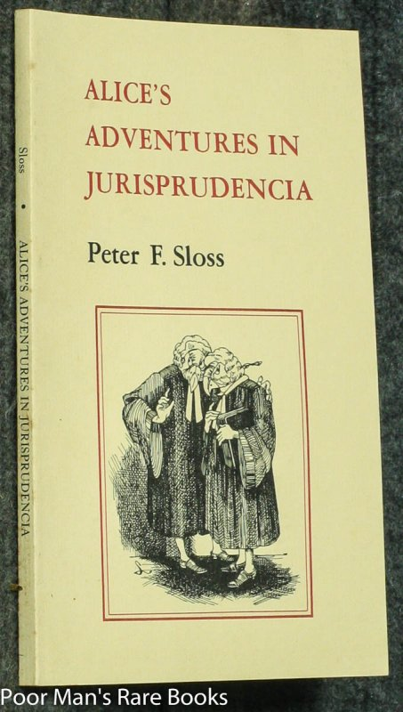 Image for ALICE'S ADVENTURES IN JURISPRUDENCIA