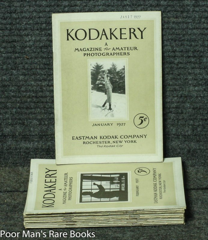 Image for KODAKERY: A MAGAZINE FOR AMATEUR PICTURE MAKERS 12 ISSUES COMPLETE FOR 1927