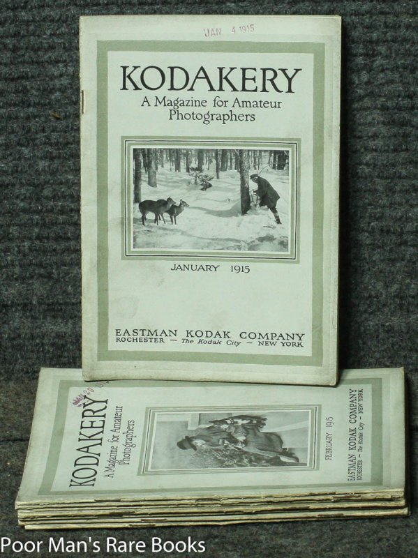 Image for KODAKERY: A MAGAZINE FOR AMATEUR PICTURE MAKERS 8 ISSUES FOR 1915