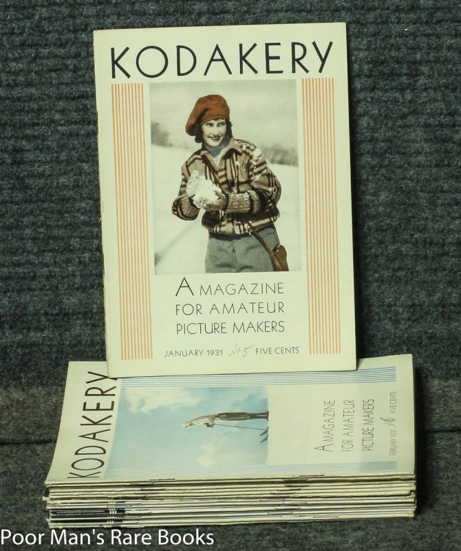 Image for KODAKERY: A MAGAZINE FOR AMATEUR PICTURE MAKERS 16 ISSUES FOR 1931-2