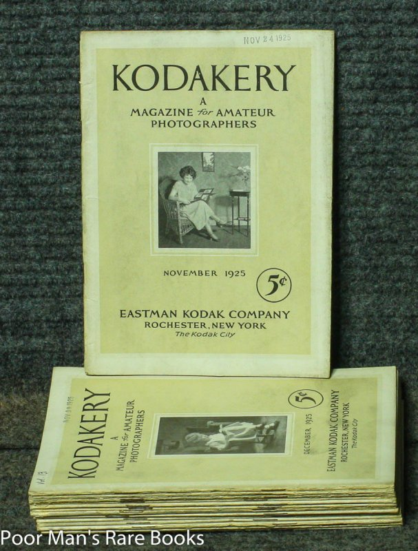 Image for KODAKERY: A MAGAZINE FOR AMATEUR PICTURE MAKERS 14 ISSUES COMPLETE FOR NOV 1925- DEC1926