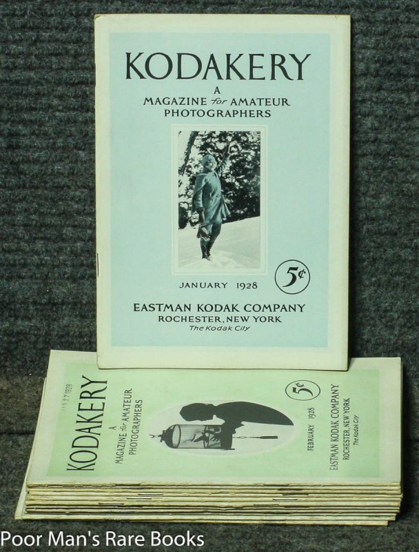 Image for KODAKERY: A MAGAZINE FOR AMATEUR PICTURE MAKERS 12 ISSUES COMPLETE FOR 1928