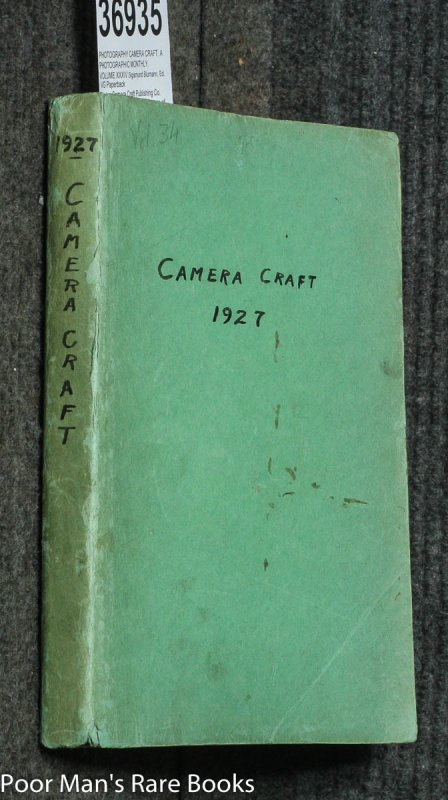 Image for CAMERA CRAFT. A PHOTOGRAPHIC MONTHLY. VOLUME XXXIV 1927