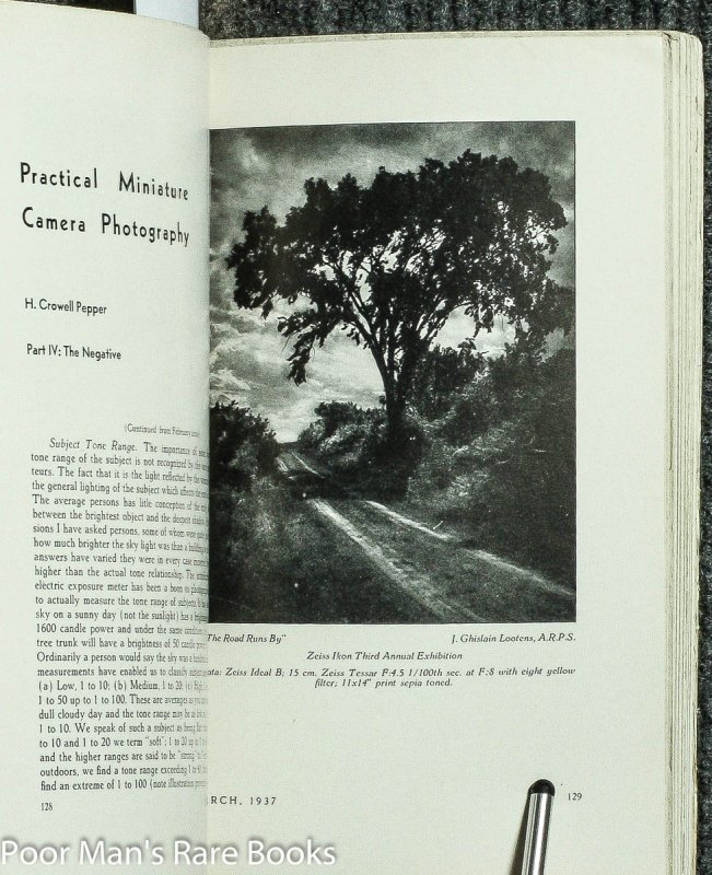 Image for CAMERA CRAFT. A PHOTOGRAPHIC MONTHLY. 1937