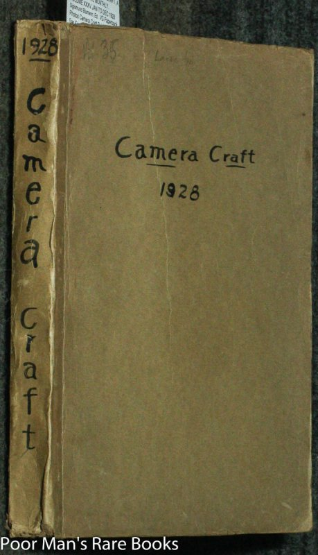 Image for CAMERA CRAFT. A PHOTOGRAPHIC MONTHLY. VOLUME XXXV JAN TO DEC 1928