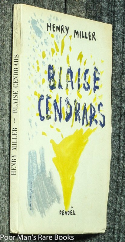 Image for BLAISE CENDRARS [LTD 28/50]