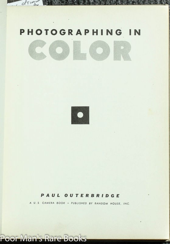 Image for Photographing In Color