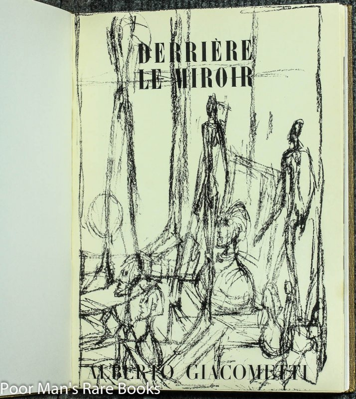 Image for Derriere Le Miroir June/ July 1951 [or Later]; May 1954; June 1957; May 1961. Nos 39/40, 65, 98 & 127