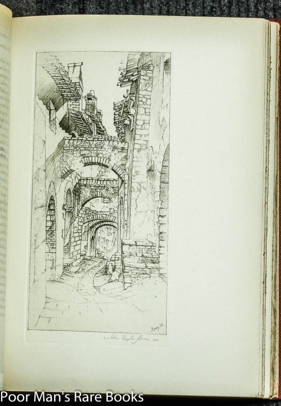 Image for Hill Towns and Cities of Northern Italy with Fifty-Six Reproductions of Etchings, Aquatints, and Drawings