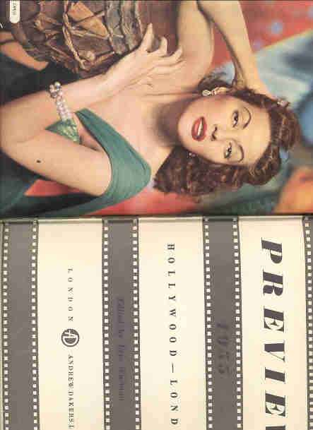 Image for PREVIEW 1955 HOLLYWOOD AND LONDON 3717-B