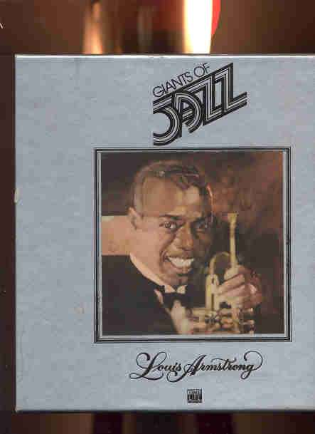 Image for GIANTS OF JAZZ, LOUIS ARMSTRONG TAPES & BOOK