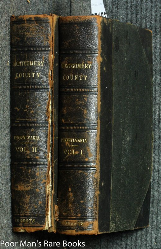 Image for Biographical Annals Of Montgomery County Pennsylvania [ct 2 Vols]