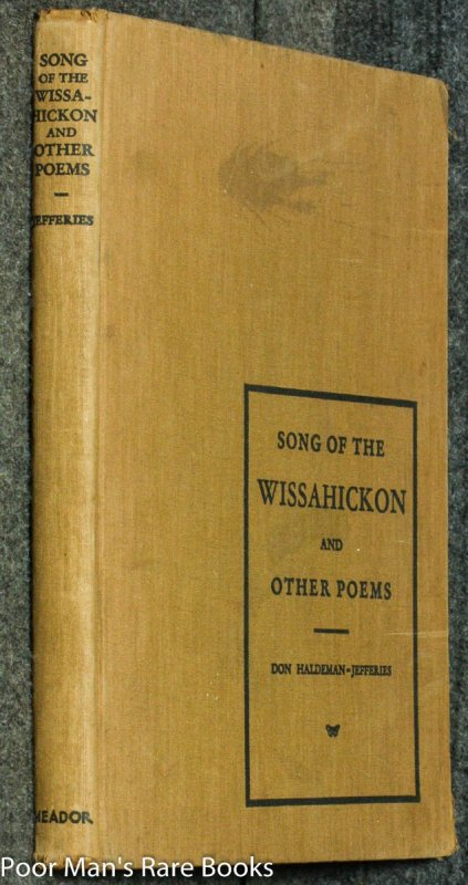 Image for Song Of The Wissahickon And Other Poems [presentation Copy]