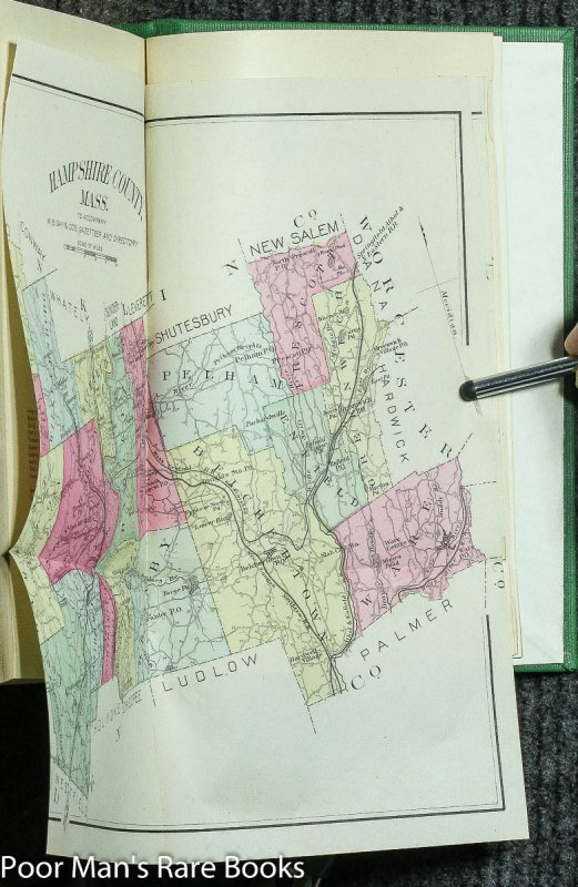 Image for Gazetteer Of Hampshire County, Mass., 1654-1887 [2 Vols In One 1887]