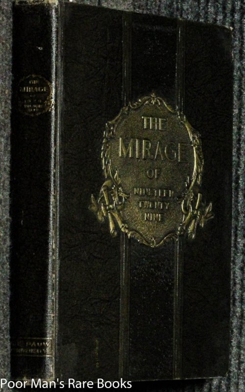 Image for Yearbook Depauw University Mirage 1929 Greencastle Indiana