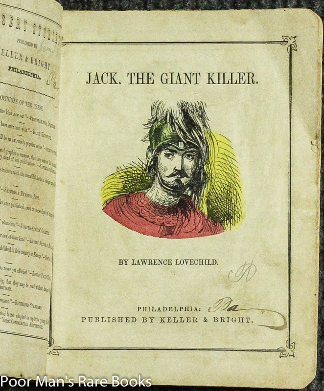 Image for Jack The Giant Killer [1849 Nine Hand Colored Wood Engravings]