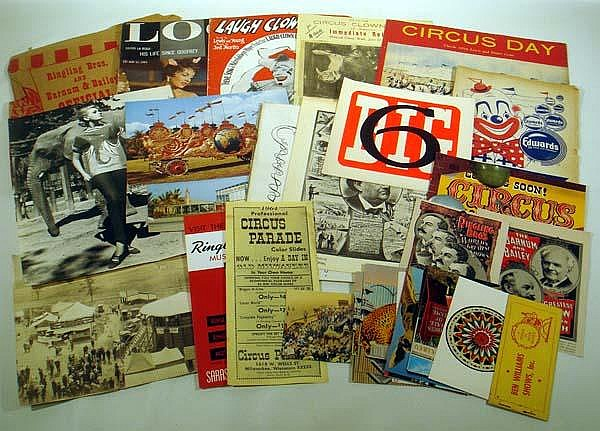 Image for Original Vintage & Antique Circus Ephemera & Magazines