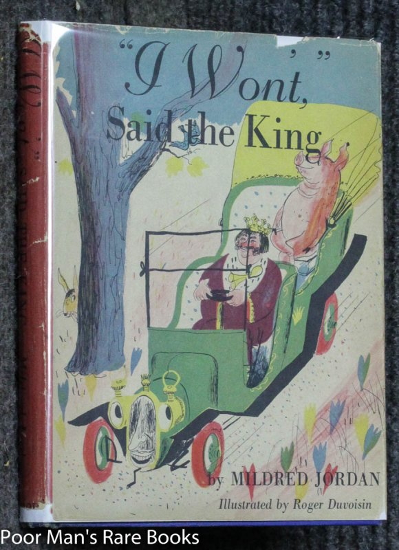 "Image for ""I Won't,"" Said The King Or The Purple Flannel Underwear [signed 1st]"