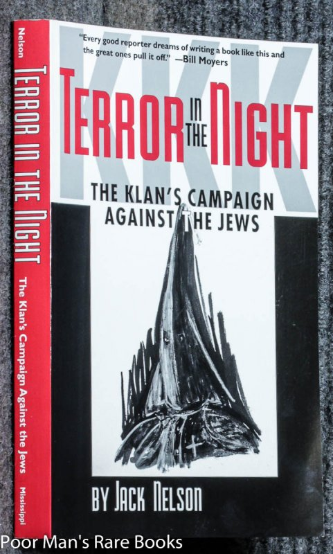 Image for Terror In The Night: The Klan's Campaign Against The Jews [signed By William Christenberry] NEB