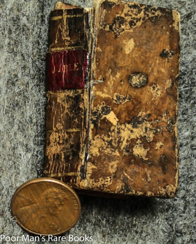 Image for A History Of The Holy Bible [miniature Book 1813]