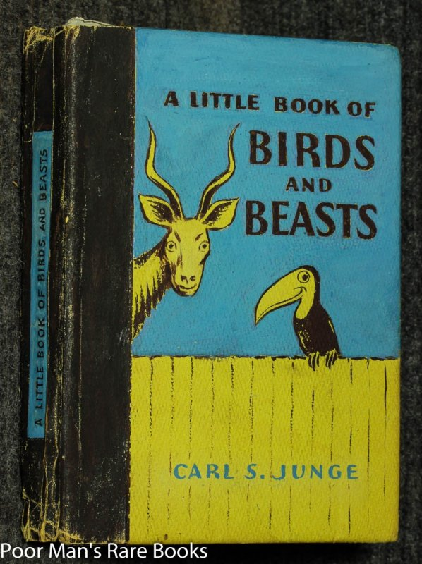 Image for A Little Book Of Birds And Beasts [hand Painted Cover, Manuscript Prototype Volume]