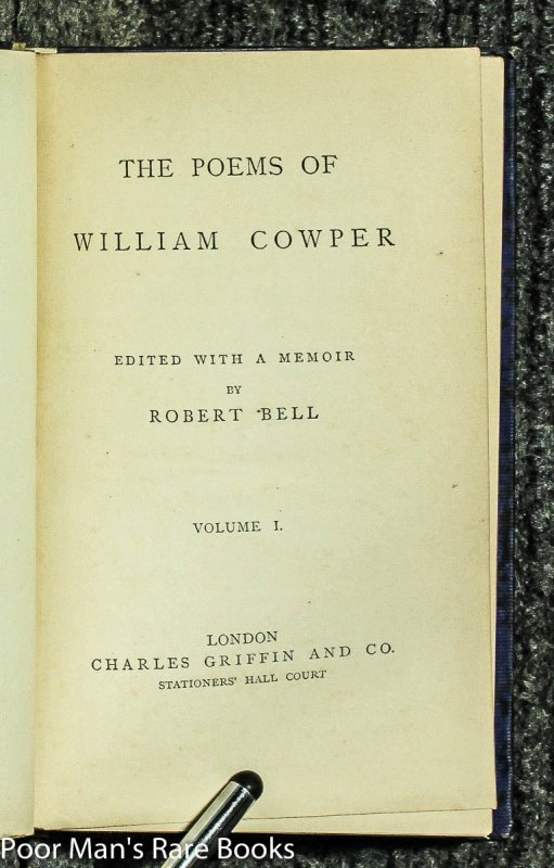 Image for 21 Vols Of Middle English Poets. Chaucer: : Butler: Shakespeare: : Thomson: : Greene: ; Marlowe: : Cowper 1870's