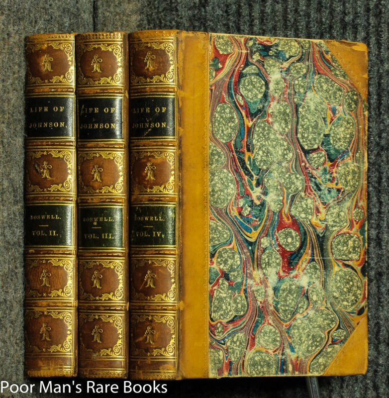 Image for The Life Of Samuel Johnson [vols 2, 3 And 4] Fine Binding